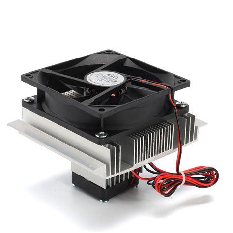 cooler fan kit 12v thermoelectric peltier refrigeration cooling cooler