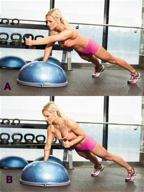 the secret to a killer 7 dynamic exercise side lunge with lateral raise bosu