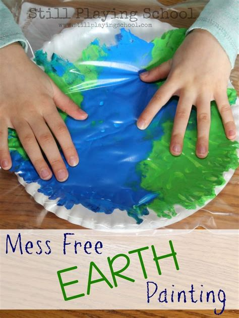 painting to play for free best 25 earth craft ideas on earth day