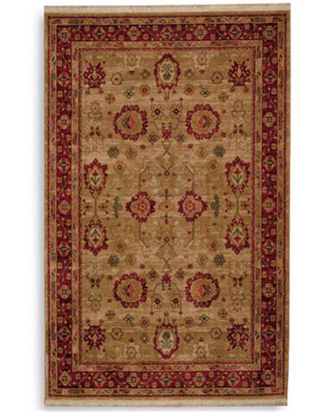 area rugs macys karastan area rug antique legends oushak 8 8 quot x 10 rugs macy s