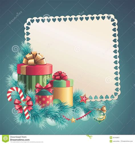 greeting card design templates gift boxes stack greeting card stock