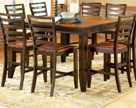 counter height kitchen tables home decorator shop steve silver abaco 54 215 36 counter height table efurniture