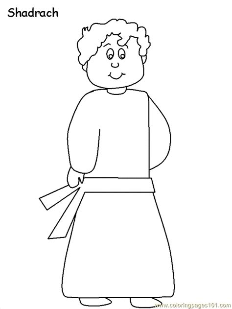 Shadrach Meshach Abednego Printable Coloring Pages Shadrach Meshach And Abednego Coloring Page