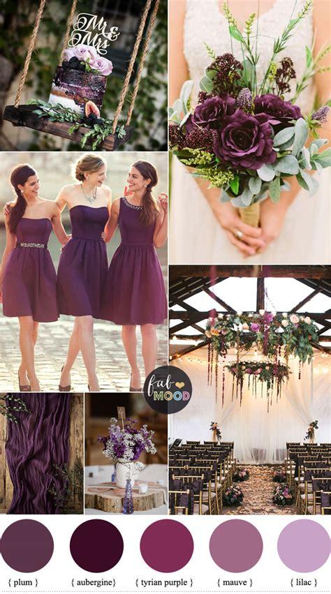 plum wedding colors wedding palette color palettes wedding color schemes 1000s