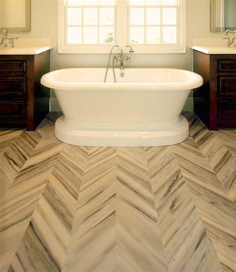 herringbone bathroom marble herringbone floor transitional bathroom