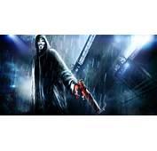 Art V For Vendetta Anonymous Gun Rain City Night