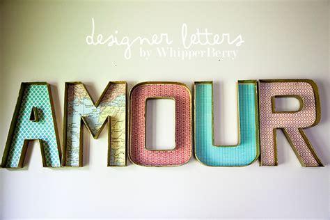 Letter Diy Diy Designer Letters Today S Creative