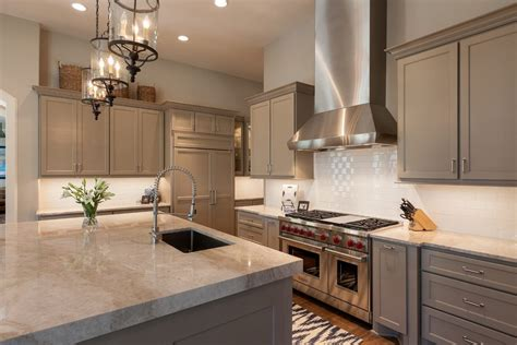 beige tile countertop kitchen traditional with beige