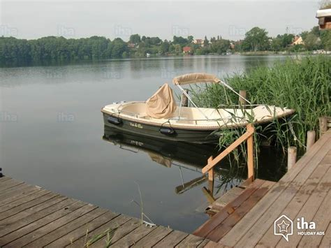 motor boat with living accommodation flat apartments for rent in flecken zechlin iha 47650