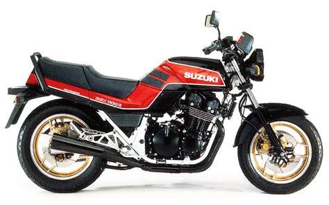 Suzuki King History Suzuki Gsx1100e Model History