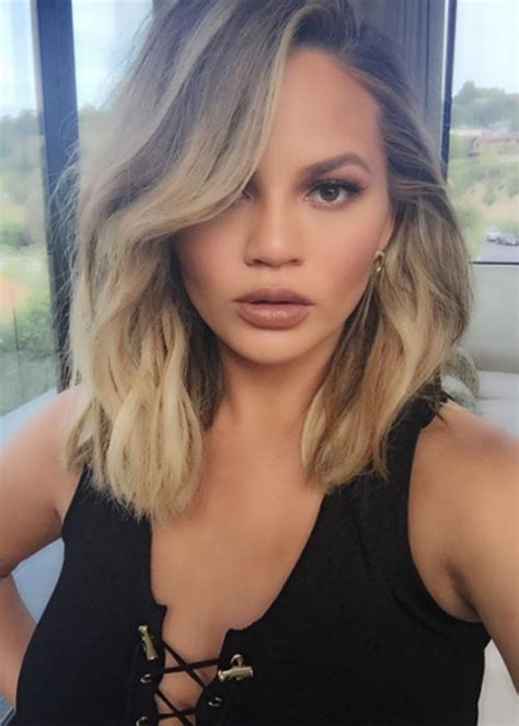 did laura mauro cut her hair what you didn t notice about chrissy teigen s new hairdo