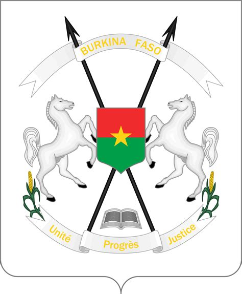 Armoirie Burkina Faso by Coat Of Arms Of Burkina Faso