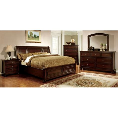 furniture of america cathey 4 piece california king canopy furniture of america caiden 4 piece california king bedroom set idf 7682ck 4pc