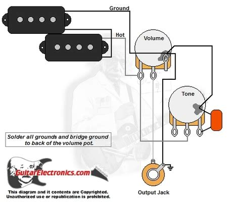 p bass wiring diagram p bass style wiring diagram