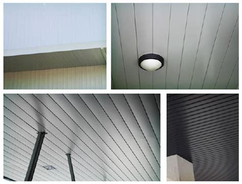 falsos techos plafones de aluminio de sfv fachadas mx - Techos De Plafon