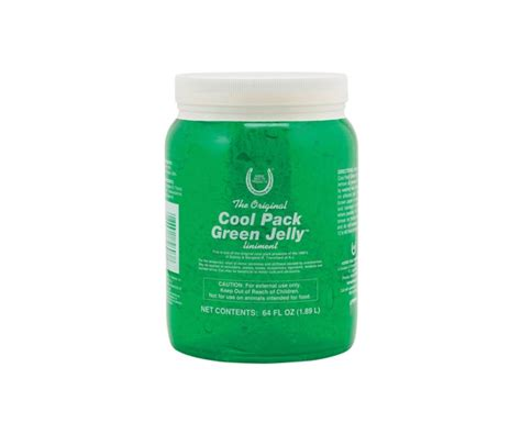 cool green products horse health products cool pack green jelly legend land