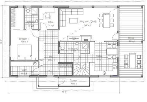 plano de casa de un piso 005jpg prefabricada de 4 dormitorios planos de casas modernas