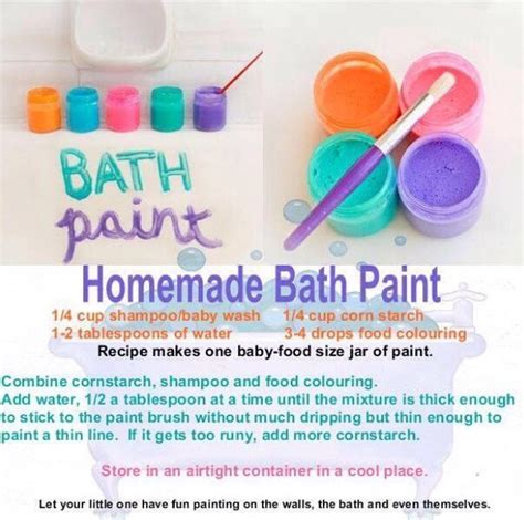 homemade bathtub paint homemade kid friendly bath paints