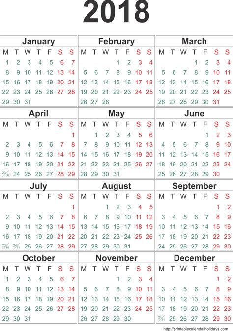 excel yearly calendar template calendar month printable