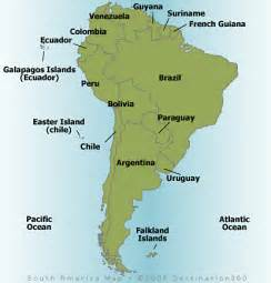 south america map map of south america maps