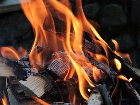 kostenloses foto feuer grillen flammen brennen