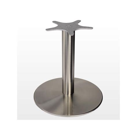 table de cuisine pied central pied central look inox ilovedetails