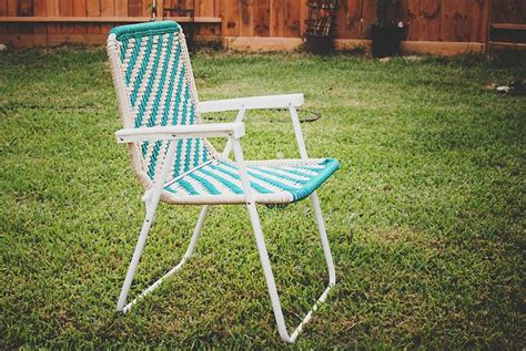 Macrame Lawn Chair by Webbing Lawn Chairs To Macrame Lawn Chair Http Www