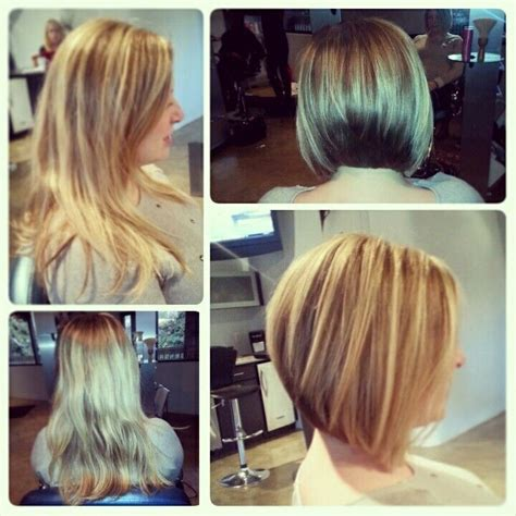 short hairsyles in charlotte nc before and after long to inverted bob studio hz