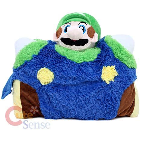 mario luigi pillow pad pet transforming cushion