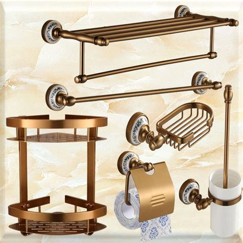 towel rack sets bathrooms hot sale european antique bathroom hardware sets space