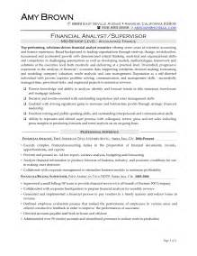 Senior Financial Analyst Sle Resume graduate resume in finance and banking sales banking