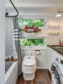 House And Home Bathroom Comfort And Luxury In A Tiny House Format