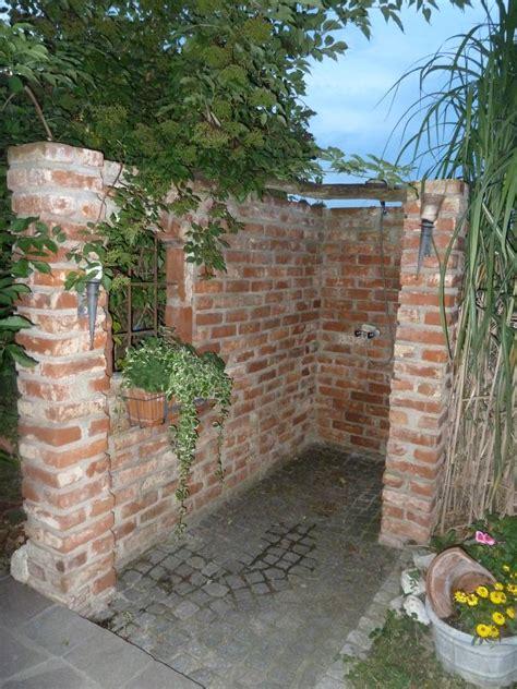 Sichtschutz Dusche Garten