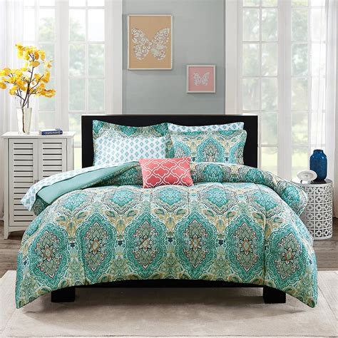 paisley bed set paisley coordinated bedding set everything turquoise
