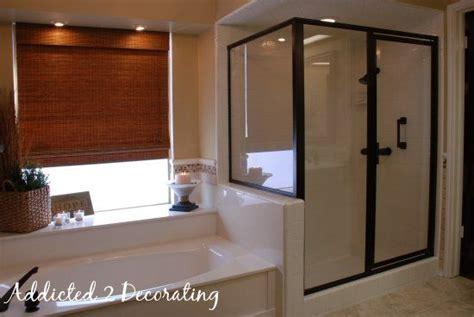 rubbed bronze shower door frame door frame rubbed bronze shower door frame