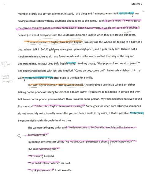 Exle Dialogue Essay by Exle Of Dialogue Essay