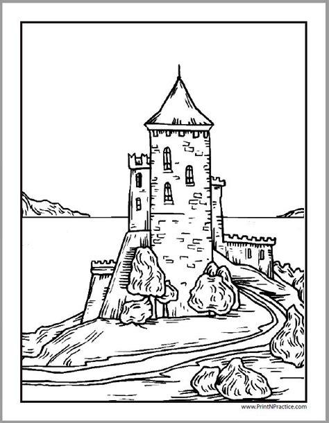 neuschwanstein castle coloring page neuschwanstein castle coloring pages castle coloring