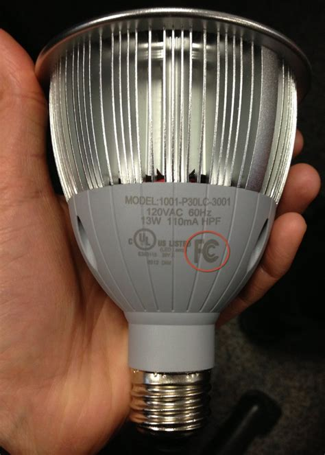 fcc compliant led lights led ls interfering with radio transmissions