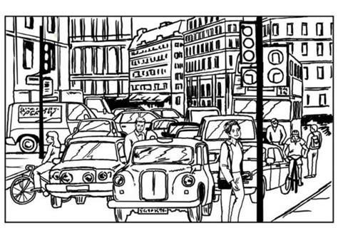 ciudad de dibujos para colorear dibujos de ciudades para imprimir y colorear colorear