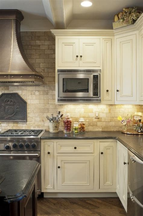travertine kitchen backsplash ideas mediterranean kitchen design travertine tile backsplash