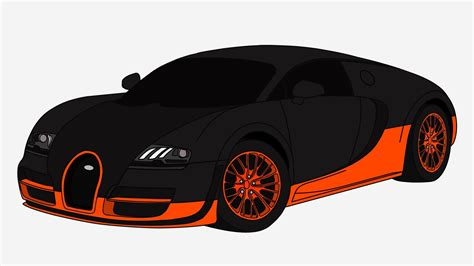 bugatti drawing how to draw bugatti veyron