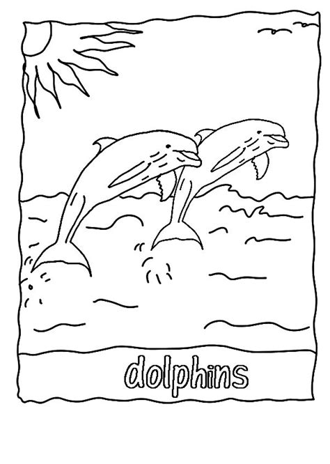 coloring pages of winter the dolphin 17 best images about letter a b c d on pinterest