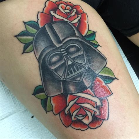 war tattoo darth vader traditional wars