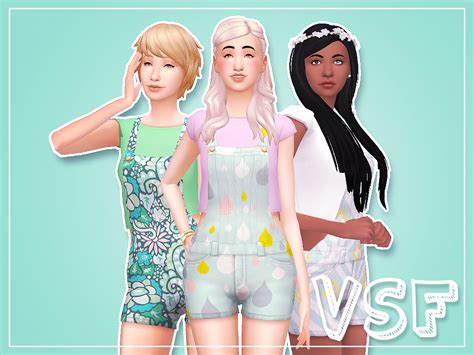 sims 4 overall shorts my sims 4 blog overall overhaul by nilla