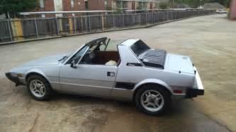 1979 Fiat X19 Bertone 1979 Fiat X 1 9 Bertone X19 Targa 42k Original