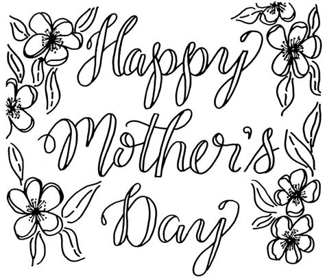 How To Draw Mothers Day easy mothers day drawings ideas pictures for cards