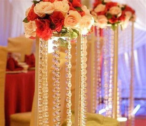 50MTransparent Crystal Octagonal Beaded Chain Curtain