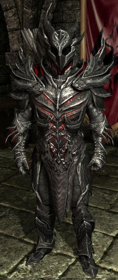 skyrim daedric armor and weapons daedric armor skyrim elder scrolls fandom powered by