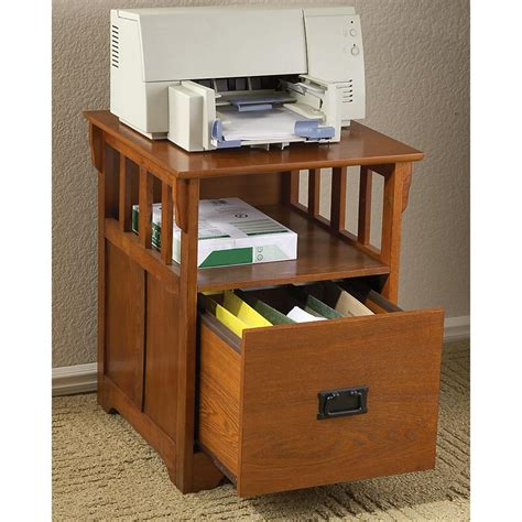 Mission   style End Table / File Cabinet   144522, Office