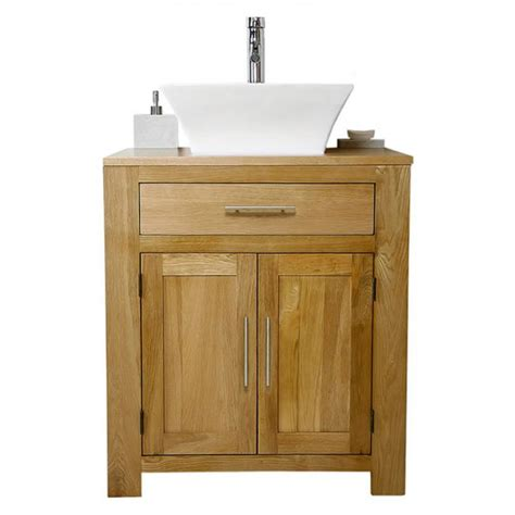 700mm bathroom vanity unit 50 off solid oak vanity unit with basin sink 700mm